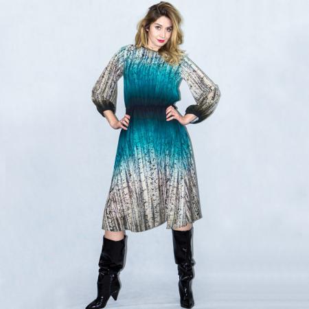 Wykrój na damską sukienkę, fig. 4
