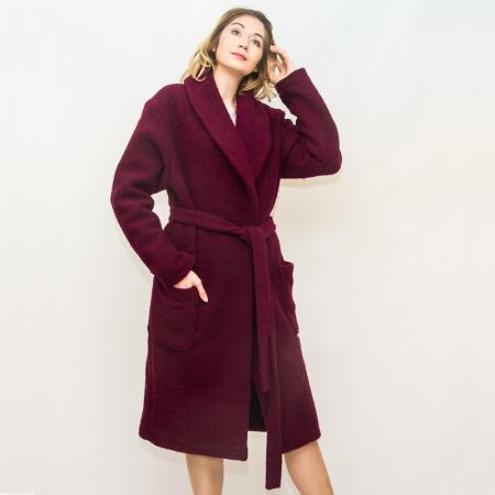 Wykrój na prosty płaszcz damski, fig. 3
