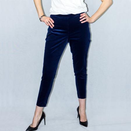 Wykrój na spodnie damskie typu cygaretki, fig. 5
