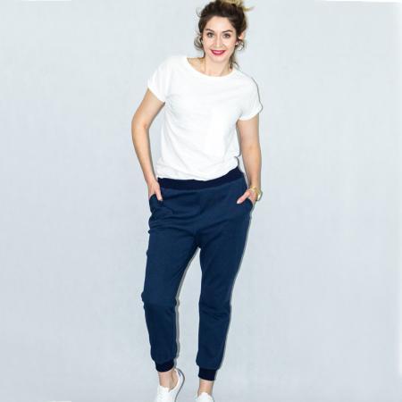 Wykrój na damskie spodnie dresowe, fig. 3