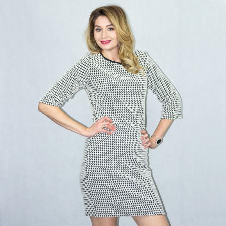 Wykrój na prostą damską sukienkę, fig. 3