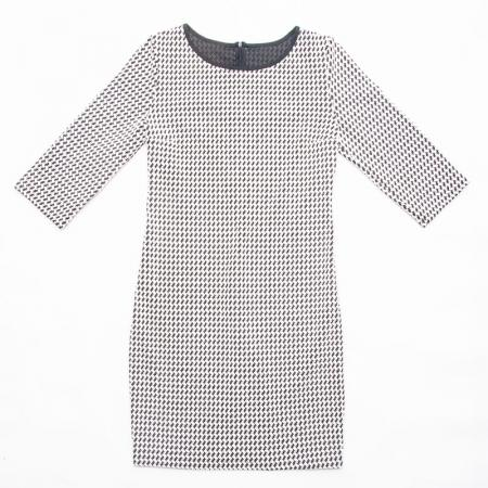 Wykrój na prostą damską sukienkę, fig. 4