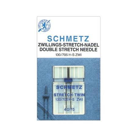 Zestaw igieł Schmetz do dzianin, stretchu i igła podwójna, fig. 4