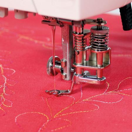 Zestaw stopek do pikowania haftowania i cerowania do stebnówki Janome HD9 i 1600PQC, fig. 2
