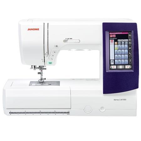 Maszyna do szycia i haftowania Janome MC9850