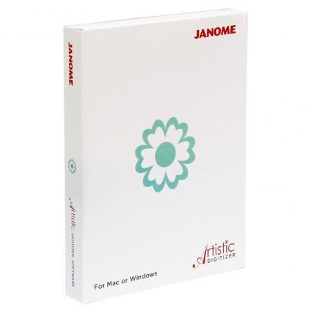 Janome Artistic Digitizer - profesjonalny program do projektowania haftów, fig. 1