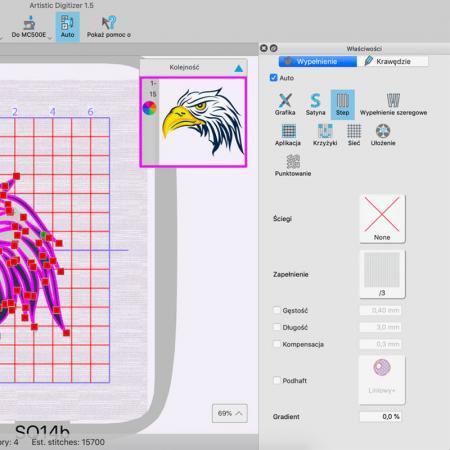 Janome Artistic Digitizer - profesjonalny program do projektowania haftów, fig. 3