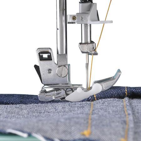 Stopka pływająca do szycia jeansu, zgrubień, szwów, fig. 2