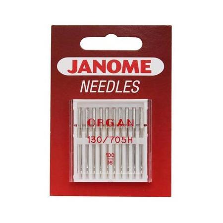 Igły do maszyn do szycia tkanin 130/705H JANOME (różne grubości), fig. 1