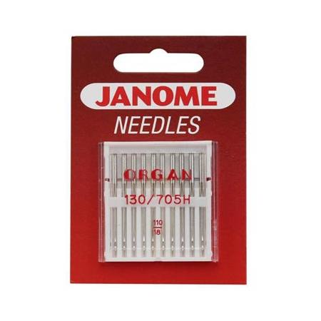 Igły do maszyn do szycia tkanin 130/705H JANOME, fig. 1