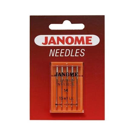Igły do maszyn do szycia Janome do skóry 130/705H LL (różne grubości), fig. 1