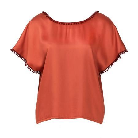 Wykrój BURDA: bluzka zobniżoną linią ramion i dekoltem wszpic zprzodu lub ztyłu, fig. 5