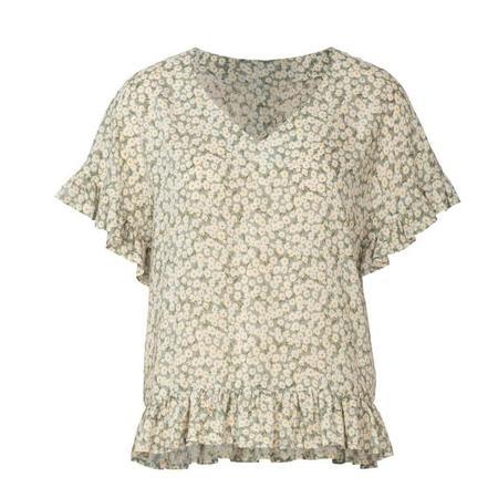 Wykrój BURDA: bluzka zobniżoną linią ramion i dekoltem wszpic zprzodu lub ztyłu, fig. 7