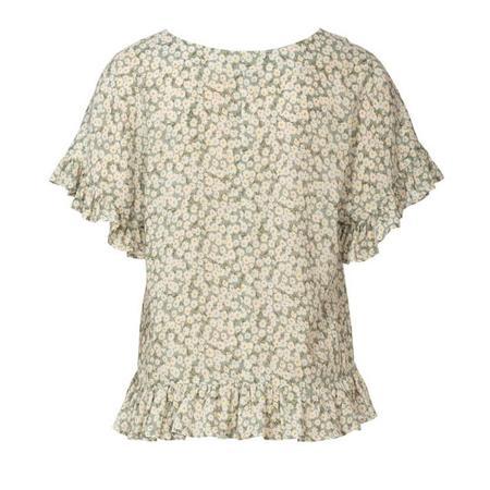 Wykrój BURDA: bluzka zobniżoną linią ramion i dekoltem wszpic zprzodu lub ztyłu, fig. 8