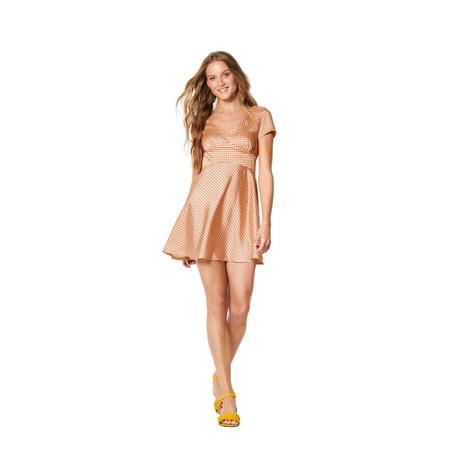 Wykrój BURDA: sukienka wstylu empire zpanelem pod biustem iz rozkloszowaną spódnicą, fig. 2