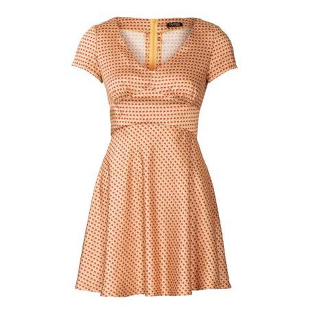 Wykrój BURDA: sukienka wstylu empire zpanelem pod biustem iz rozkloszowaną spódnicą, fig. 4