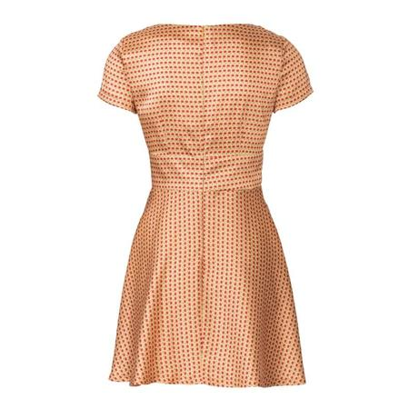 Wykrój BURDA: sukienka wstylu empire zpanelem pod biustem iz rozkloszowaną spódnicą, fig. 5
