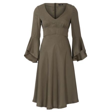 Wykrój BURDA: sukienka wstylu empire zpanelem pod biustem iz rozkloszowaną spódnicą, fig. 6