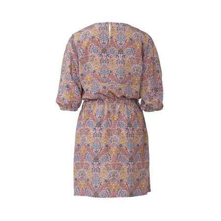 Wykrój BURDA: luźna sukienka zraglanowymi rękawami i tunelem wtalii, fig. 5