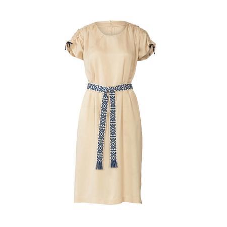 Wykrój BURDA: luźna sukienka zraglanowymi rękawami i tunelem wtalii, fig. 6