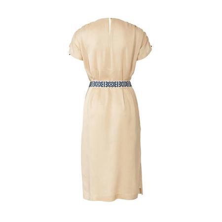 Wykrój BURDA: luźna sukienka zraglanowymi rękawami i tunelem wtalii, fig. 7