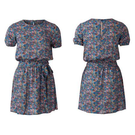 Wykrój BURDA: luźna sukienka z falbaną u dołu, fig. 5