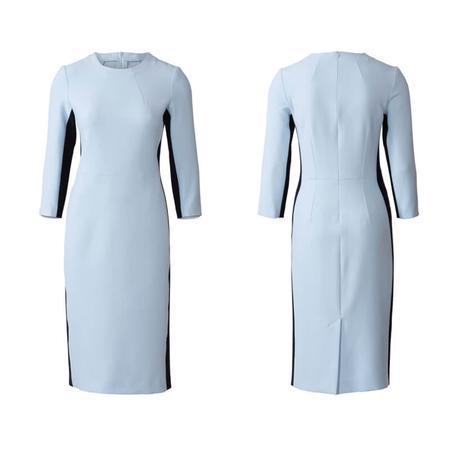 Wykrój BURDA: prosta sukienka z rozporkiem ztyłu, fig. 4
