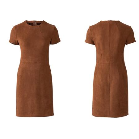 Wykrój BURDA: prosta sukienka z rozporkiem ztyłu, fig. 5
