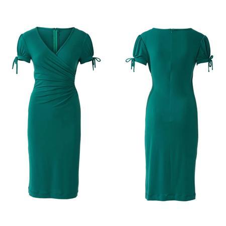 Wykrój BURDA: dopasowana sukienka kopertowa, fig. 5