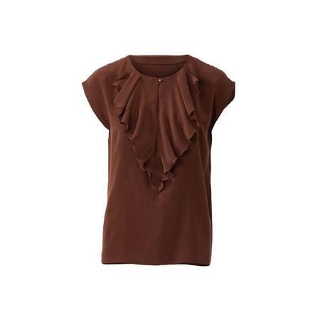 Wykrój BURDA: bluzka o prostym kroju, zwolantem przy dekolcie, fig. 4