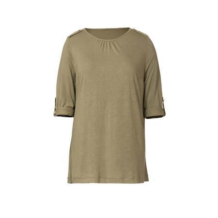 Wykrój BURDA: bluzka zpodwijanymi rękawami albo z rękawami zwolantami, fig. 4