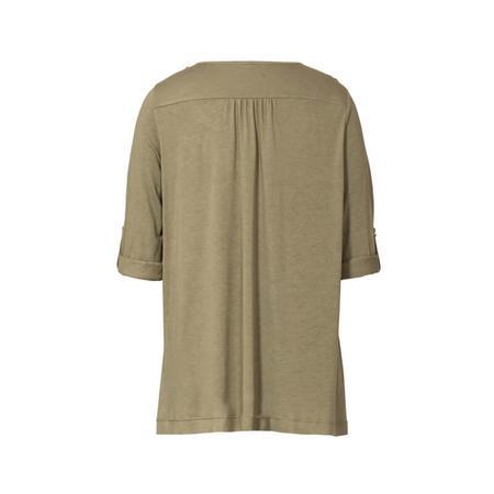 Wykrój BURDA: bluzka zpodwijanymi rękawami albo z rękawami zwolantami, fig. 5