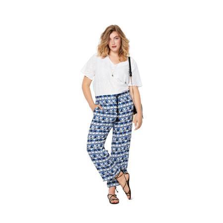 Wykrój BURDA: spodnie o prostym kroju z naszywanymi kieszeniami, fig. 2
