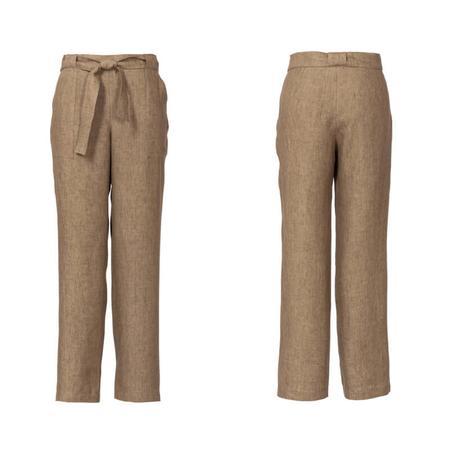 Wykrój BURDA: spodnie o prostym kroju z naszywanymi kieszeniami, fig. 4