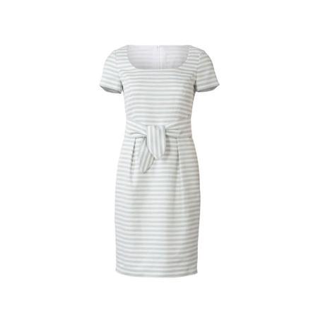 Wykrój BURDA: prosta sukienka zdekoltem karo, fig. 4