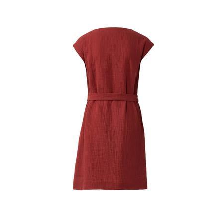 Wykrój BURDA: sukienka bez rękawów zdekoltem wserek i falbaną, o luźnym kroju, fig. 5