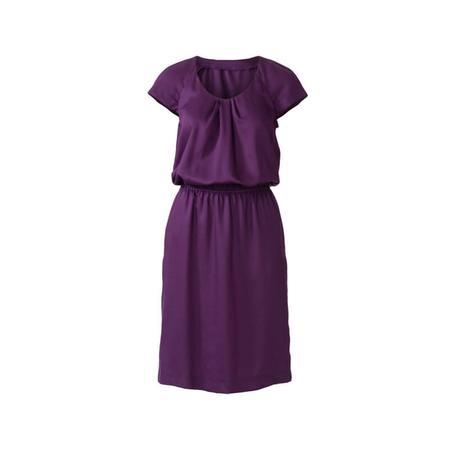 Wykrój BURDA: sukienka z zakładkami przy dekolcie i raglanowymi rękawami, fig. 4