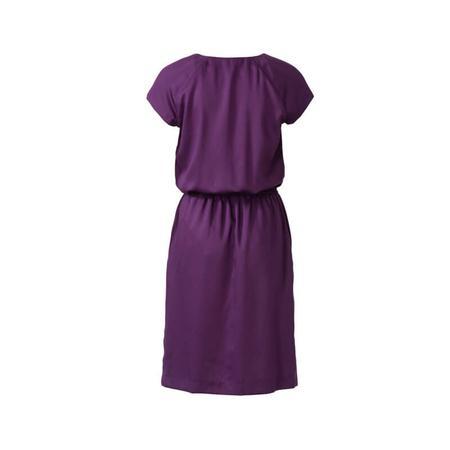 Wykrój BURDA: sukienka z zakładkami przy dekolcie i raglanowymi rękawami, fig. 5