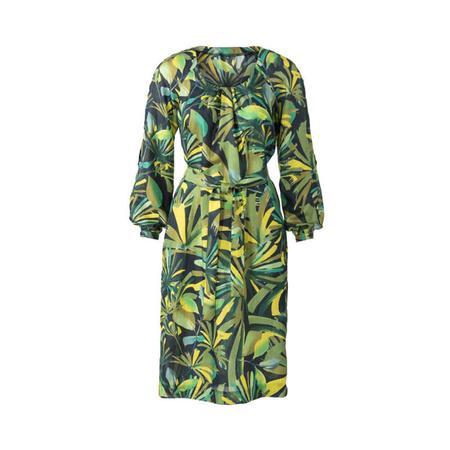 Wykrój BURDA: sukienka z zakładkami przy dekolcie i raglanowymi rękawami, fig. 6