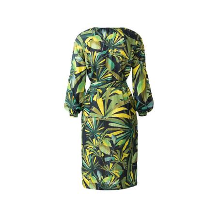Wykrój BURDA: sukienka z zakładkami przy dekolcie i raglanowymi rękawami, fig. 7