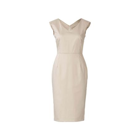 Wykrój BURDA: sukienka zdekoracyjnym marszczeniem + sukienka ołówkowa zdekoltem wszpic, fig. 6