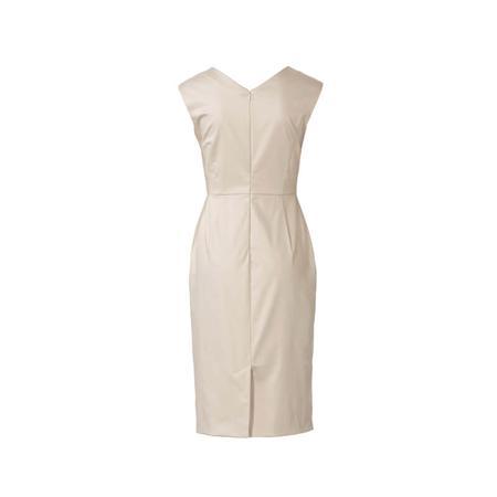 Wykrój BURDA: sukienka zdekoracyjnym marszczeniem + sukienka ołówkowa zdekoltem wszpic, fig. 7