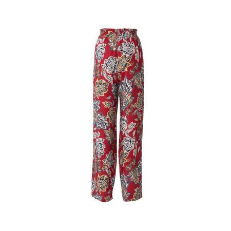 Wykrój BURDA: spodnie zgumą wpasie ikieszeniami wszwach bocznych, zszerokimi nogawkami, fig. 5