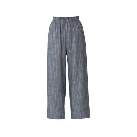 Wykrój BURDA: spodnie zgumą wpasie ikieszeniami wszwach bocznych, zszerokimi nogawkami, fig. 6