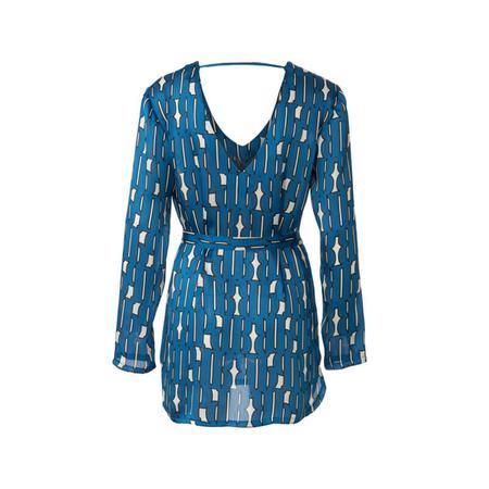 Wykrój BURDA: bluzka zdekoltem wszpic, fig. 5
