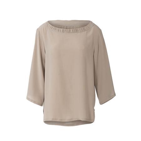 Wykrój BURDA: bluzka zmarszczoną plisą dekoltu i rękawami 3/4, fig. 5