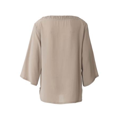Wykrój BURDA: bluzka zmarszczoną plisą dekoltu i rękawami 3/4, fig. 6
