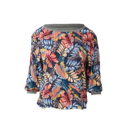 Wykrój BURDA: bluzka zmarszczoną plisą dekoltu i rękawami 3/4, fig. 7