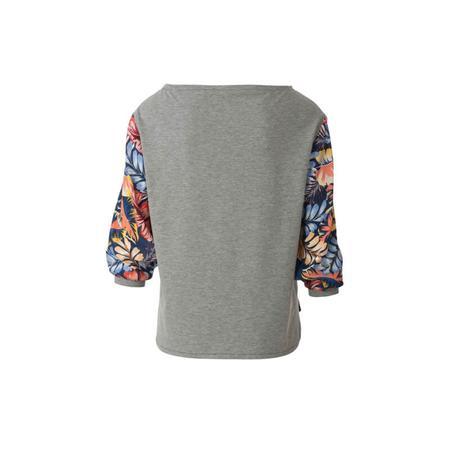 Wykrój BURDA: bluzka zmarszczoną plisą dekoltu i rękawami 3/4, fig. 8