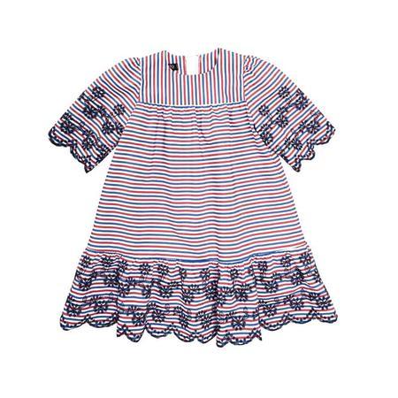 Wykrój BURDA: sukienka zkarczkiem ikołnierzykiem bebe oraz falbanką u dołu, fig. 6